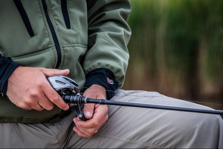 Close up Photo of Rod with a Casting Reel