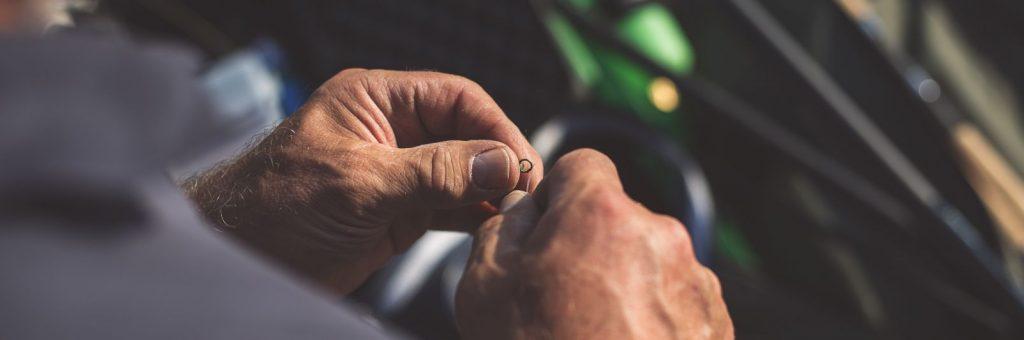 Fisherman Tying a Knot