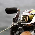 Baitcast Reel Close Up