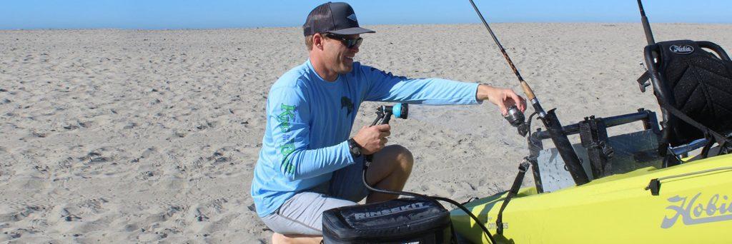 Washing Fishing Equipment with RinseKit Featured Image