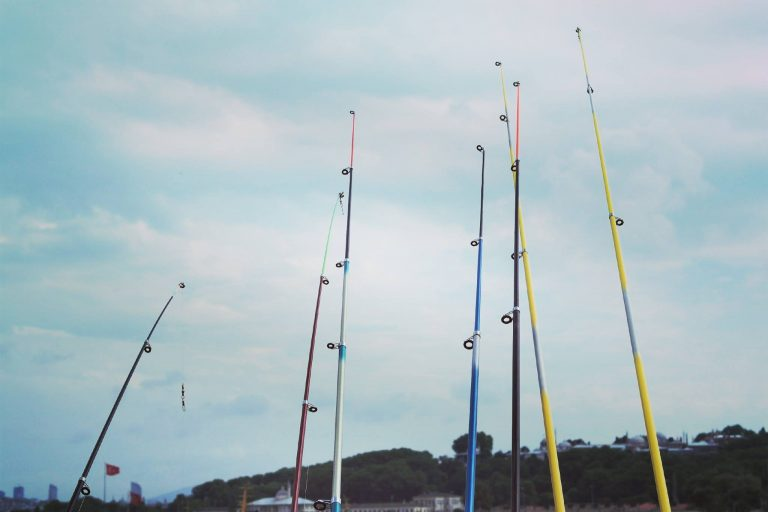 Rods Pointed Upwards
