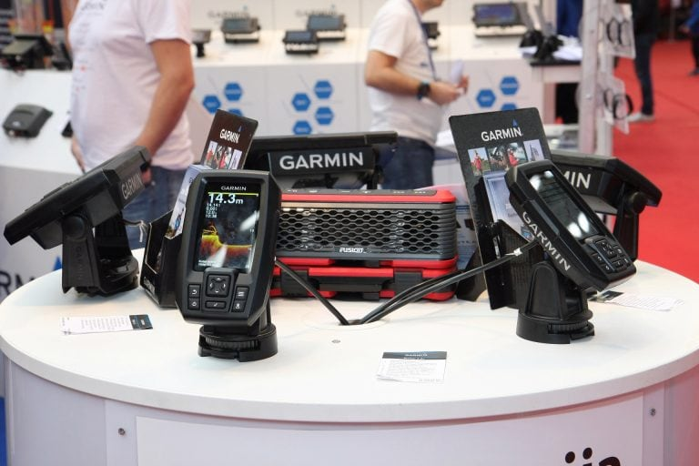 Garmin Fish Finders On Display