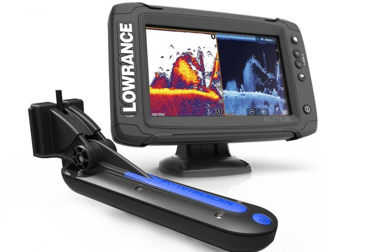 Lowrance Elite 7 with TotalScan Transducer