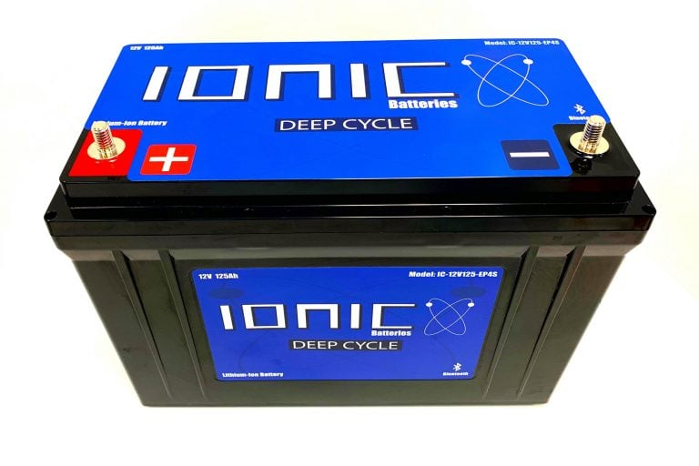 Ionic 12 Volt 100Ah Lithium Deep Cycle Battery